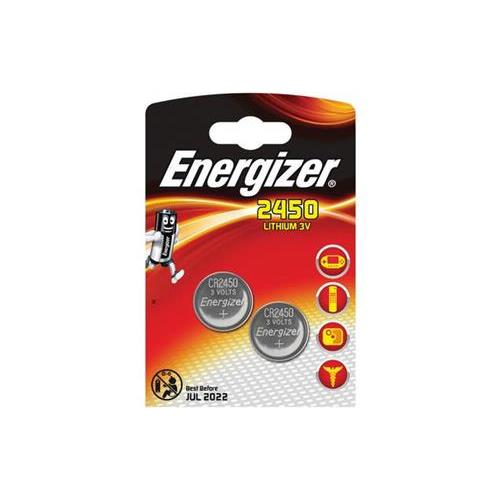 Pile bouton au lithium CR2450 3V