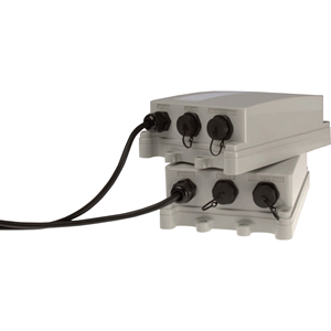 AXIS T8123-E PoE-injector - 110 V AC, 220 V AC Ingang - 55 V DC Uitgang - 1 10/100/1000Base-T Output Port(s) - 30 W