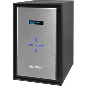 "Netgear ReadyNAS RN528X 8 x Total Bays SAN/NAS-opslagsysteem - Bureaublad - 1 x Intel Pentium D1508 Dual-core (2 Core) 2.20 GHz - 4 GB RAM DDR4 SDRAM - Serial ATA/600 controller - RAID-ondersteund 0, 1, 5, 6, 10, JBOD - 8 x 2.5""/3.5"" gleuf - 10 Gigabit Ethernet - eSATA - 3 USB Port(s) - 3 USB 3.0 Port(s) - Netwerk (RJ-45) - ReadyNAS OS 6 - iSCSI, DLNA, LACP, IPv6, NTP, WEBDAV, SSL/TLS, AFP, CIFS, IPv4, Bonjour, ..."