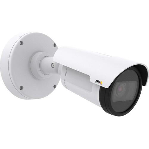 AXIS P1435-LE Netwerkcamera - Monochroom, Kleur - 30 m Night Vision - Motion JPEG, H.264, MPEG-4 AVC - 1920 x 1080 - 3 mm - 10.50 mm - 3.5x optische - CMOS - Kabel - Kogel - Bevestiging voor toestelverbindingsdoos, Paalmontage, Hoekbevestiging, Beugelmontage