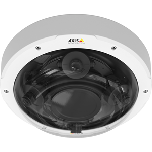 AXIS P3707-PE 8 Megapixel Netwerkcamera - Kleur - Motion JPEG, H.264, MPEG-4 AVC - 1920 x 1080 - 2.80 mm - 6 mm - 2.1x optische - RGB CMOS - Kabel - dome - Hangbevestiging
