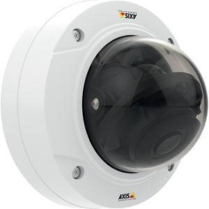 AXIS P3224-LV Netwerkcamera - Monochroom, Kleur - Motion JPEG, H.264, MPEG-4 - 1280 x 960 - 3 mm - 10.50 mm - 3.5x optische - RGB CMOS - Kabel - dome - Hangbevestiging, Beugelmontage, Ingebouwde montage, Voetmontagebeugel, Paalmontage, Muurbevestiging, Hoekbevestiging, Plafondsteun