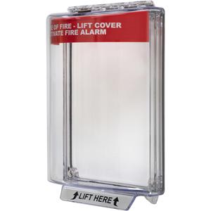 STI Universal Stopper Beschermkap - Indoor, Outdoor - Polycarbonaat - Rood