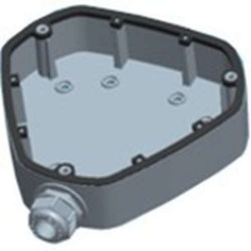 Hikvision DS-1280ZJ-DM25 Montagedoos - 4.50 kg laadcapaciteit - Wit