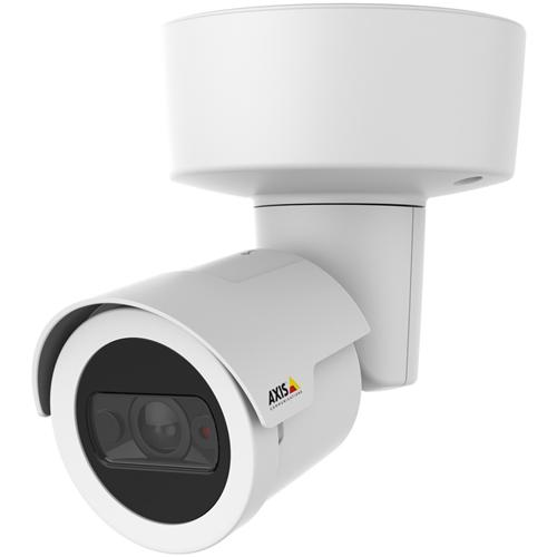 AXIS M2026-LE Mk II 4 Megapixel Netwerkcamera - Monochroom, Kleur - 15 m Night Vision - H.264, MPEG-4 AVC, Motion JPEG - 2688 x 1520 - 2.40 mm - RGB CMOS - Kabel - Bullet- Bevestiging voor toestelverbindingsdoos, Ingebouwde montage, Hangbevestiging, Plafondsteun, Paalmontage, Muurbevestiging