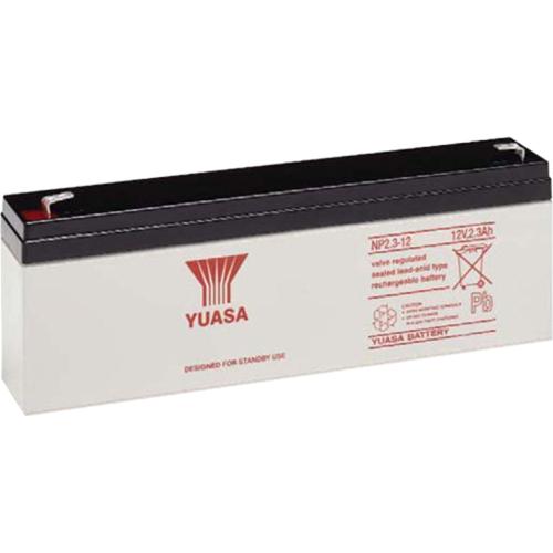 Yuasa Multifunctioneel Batterij - 2300 mAh - Loodzuur - 12 V DC - Oplaadbare batterij