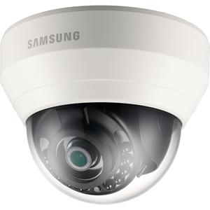 Hanwha Techwin WiseNet Lite SNDL6013RP 2 Megapixel Netwerkcamera - Monochroom, Kleur - 15 m Night Vision - Motion JPEG, H.264 - 1920 x 1080 - 3.60 mm - CMOS - Kabel - dome