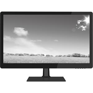 "W Box WBXMP1854 47 cm (18.5"") LCD-monitor - 16:9 - 9 ms - 1360 x 768 - 16,7 miljoen kleuren - 200 cd/m² - 50,000:1 - HD - Luidsprekers - HDMI - VGA - Glanzend zwart, Mat zwart"