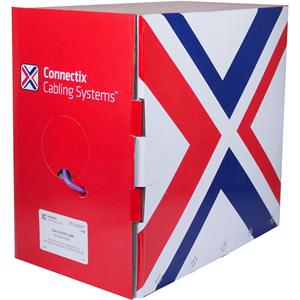 Connectix Categorie 6 Netwerkkabel voor Network-device - 305 m - Kaal draad - Kaal draad
