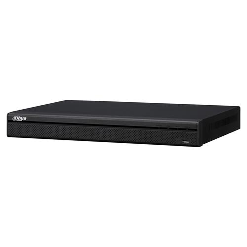 Dahua NVR4208-8P-4KS2 Videobewakingsstation - 8 kanalen - Netwerk-videorecorder - H.264 formaten - Composite video in - 1 Audio In - 1 Audio Out - 1 VGA Out - HDMI