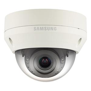 Hanwha Techwin WiseNet QNV-7080RP 4 Megapixel Netwerkcamera - Monochroom, Kleur - 30 m Night Vision - Motion JPEG, H.264 - 2688 x 1520 - 2.80 mm - 12 mm - 4.3x optische - CMOS - Kabel - dome