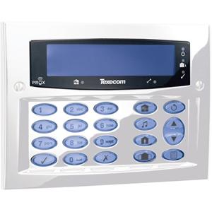Texecom Premier Elite Beveiligingstoetsenbord - Voor Bedieningspaneel - Wit