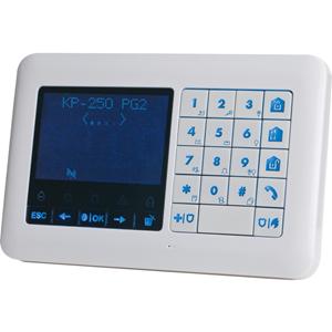Visonic KP-250 PG2 Beveiligingstoetsenbord - Voor Bedieningspaneel