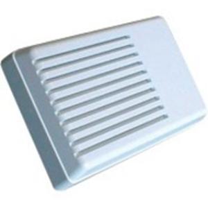 Elmdene Beveiligingsalarm - Bedraad - 12 V DC - 115 dB(A) - Hoorbaar - Wit