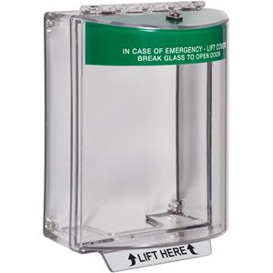 STI Universal Stopper Beschermkap voor Meldpunt - Indoor, Outdoor - Polycarbonaat - Rood