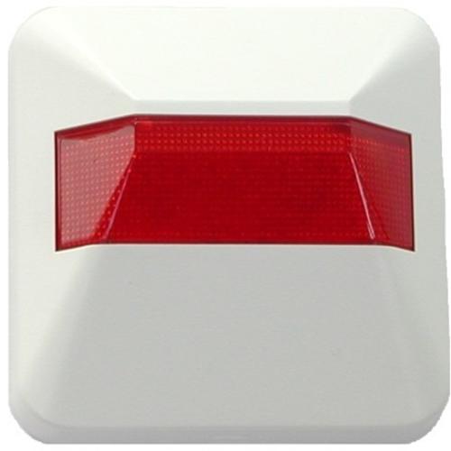 Notifier Beveiligingsstroboscoop - Bedraad - Visueel - Wit, Rood