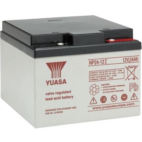 Yuasa NP24-12 Multifunctioneel Batterij - 24000 mAh - Loodzuur - 12 V DC - Oplaadbare batterij