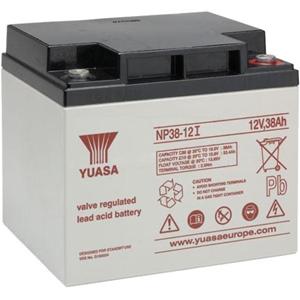 Yuasa NP38-12 Multifunctioneel Batterij - 38000 mAh - Loodzuur - 12 V DC - Oplaadbare batterij