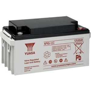 Yuasa NP65-12 Multifunctioneel Batterij - 65000 mAh - Loodzuur - 12 V DC - Oplaadbare batterij