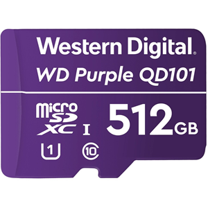 WD Purple WDD512G1P0C 512 GB Klasse 10/UHS-I (U1) microSDXC