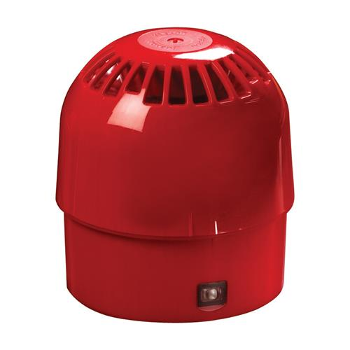 HORN ADR/ABLE OPEN AREA SNDR IP65 RED