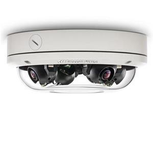 Caméra IP Extérieure Omnidirectionel, 20MP( 4x 5MP), Jour/ Nuit , 4 x 8mm, IP66-IK10, PoE