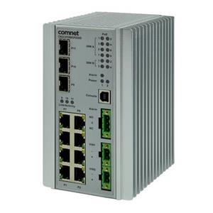 Commutateur géré, 8 ports 10 / 100Tx avec 4 ports PoE ++ (60w par port) et 4 ports PoE + (30w par port),