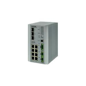 Managed Switch, 8 ports 10 / 100Tx Avec PoE + (IEEE802.3at 30W par port)