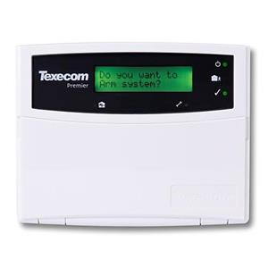 Texecom Premier Elite Clavier de commande standard LCD
