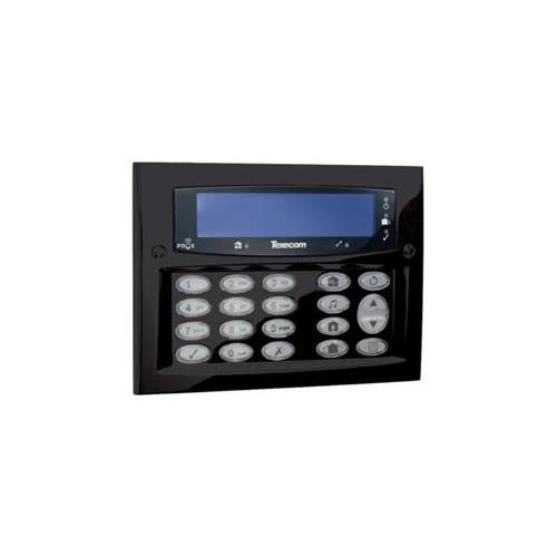 Clavier de commande LCD Texecom Premier Elite pour montage en applique Noir
