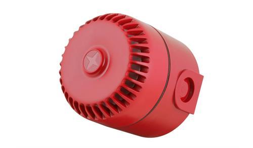 Eaton RoLP Beveiligingsalarm - 28 V AC - 102 dB(A) - Hoorbaar - Rood
