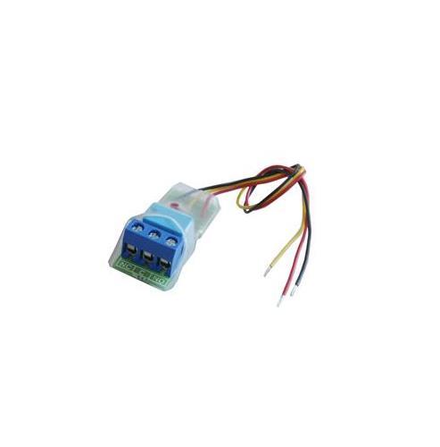 Circuit de relais universel Alarmtech 1x contact inverseur, entree de courant faible