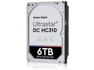 """WD Ultrastar DC HC310 HUS726T6TALE6L4 6 TB 3.5"""" SATA 6Gb/s 7200 tpm 128 MB"""