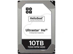"""WD Ultrastar DC HC510 HUH721010ALE604 10 TB 3.5"""" SATA 6Gb/s 7200 tpm 256 MB"""
