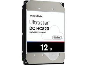 """WD Ultrastar DC HC520 HUH721212ALE604 12 TB 3.5"""" SATA 6Gb/s 7200 tpm 256 MB"""