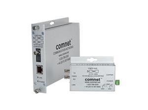 Media Converter, 100Mbps, Monomode, 2 Fibres, Connecteur SC, DC seulement