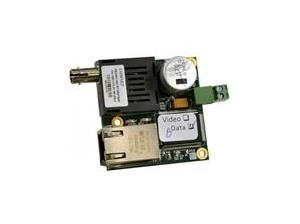 Ultra Miniature PCB Media Converter 100Mbps Singlemode 2 Fibres Connecteurs SC AC / DC Power PSU achetés séparément