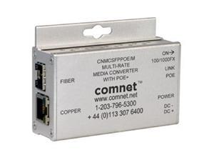 CONVERTISSEUR MEDIA 100Mbps 1Gbps SFPPoE