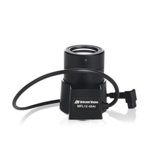 Arecont Objective mégapixel 12-40mm DC Auto Iris IR corrected
