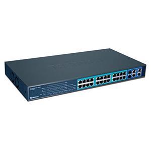 Trendnet commutateur reseau trendnet 24 ports 10/100 Mbp