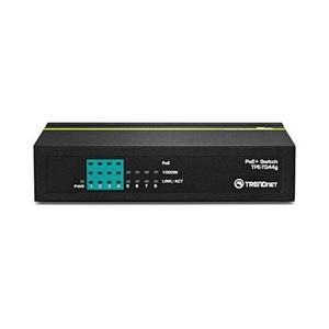 4 ports Gigabit PoE / PoE+ (30 watts par port PoE+) 4 ports Gigabit Alimentation PoE de 61.6W Réduit le coût en équipement en fournissant