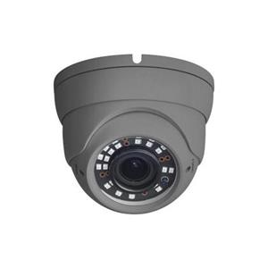 HD1080p, Extérieur Eyeball à focale variable 25-30m IR, 12 VDC, Menu OSD, IP67 li AHD, TVI, CVI, CVBS Gris