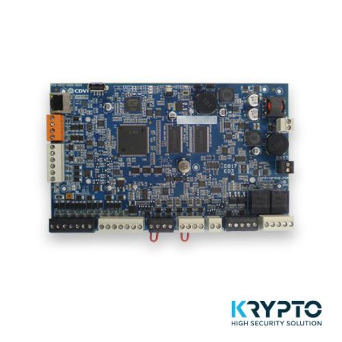 CDVI, Centrale Atrium Krypto sans coffret, Système basé WEB, Desfire EV2, installation plug <(>&<)> play