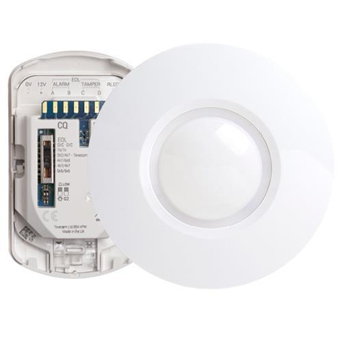 Texecom Capture Wired Ceiling Mount Quad PIR Sensor
