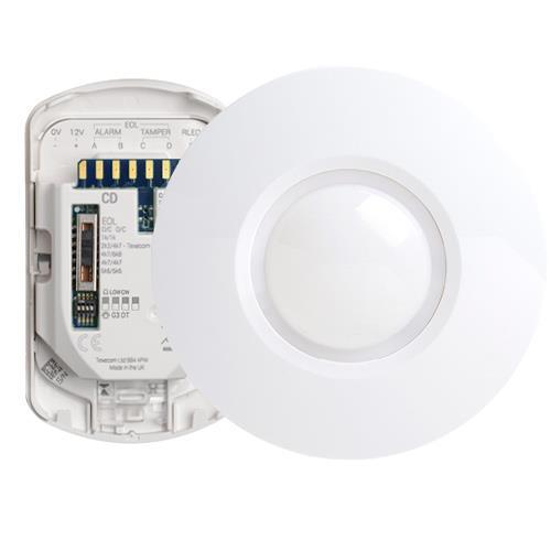 Texecom Capture Wired Ceiling Mount Quad Dual Tech Sensor