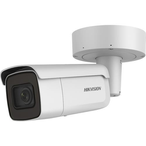 Caméra Tube IP, utilisation extérieure, résolution 8MP, objectif 2.8-12mm ZFM, Powered by Darkfighter