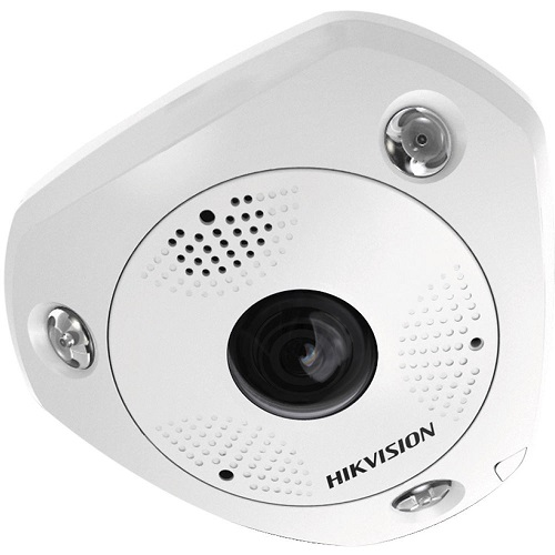 Camera IP Fisheye extérieure, 12MP, 1.29mm, IP66