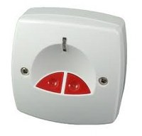 Bouton panique CQR Intelligent blanc
