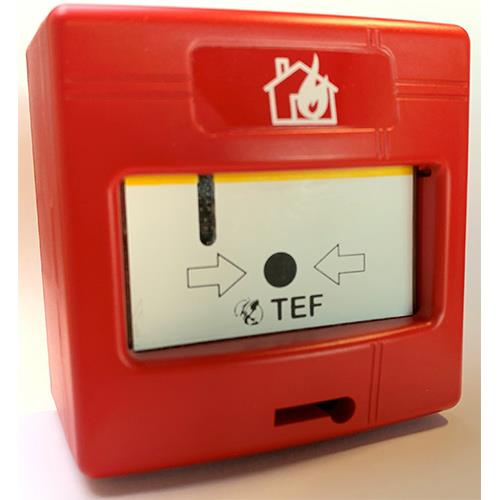 TEF, call-point,Analogue adressable, isolateur inclus