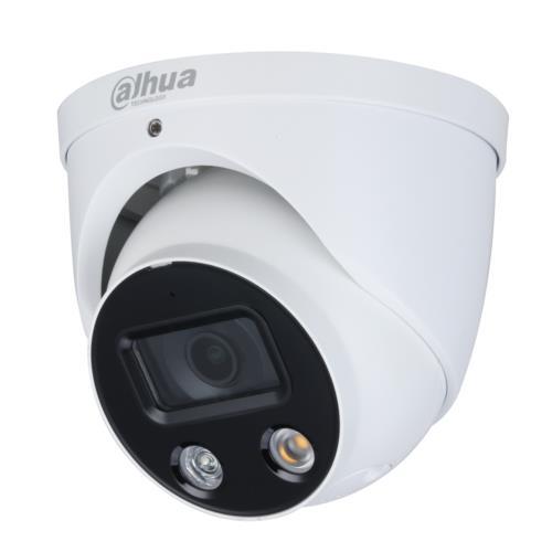 Dahua IPC-HDW3249H-AS-PV Caméra Turret IP Utilisation extérieur Résolution: 2MP Objectif: 2.8mm Wizsense Full-color TiOC